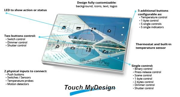 Zennio Touch MyDesign